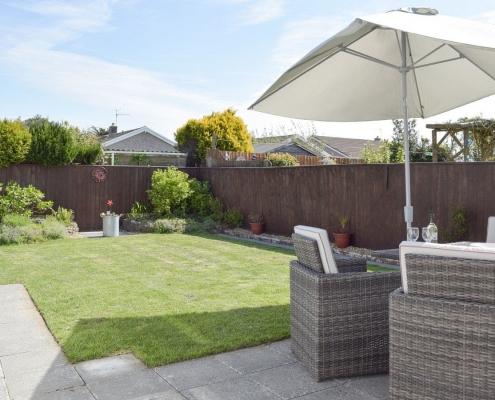 Saundersfoot Back Garden