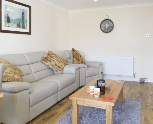 Spacious Lounge in Saundersfoot Self Catering cottage